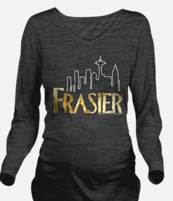 Frasier Logo Design Long Sleeve Maternity T-Shirt
