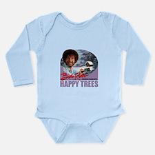 Unique Happy trees Long Sleeve Infant Bodysuit