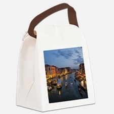 VENICE CANAL Canvas Lunch Bag