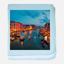 VENICE CANAL baby blanket