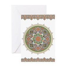 Traditional Motif Eid Greeting Card