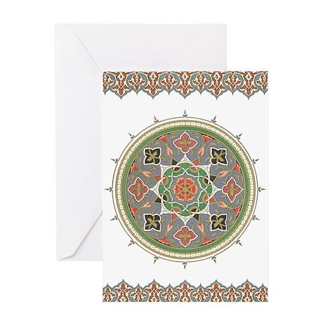 Traditional Motif Eid Greeting Card