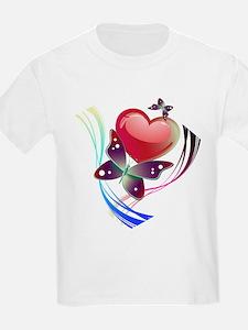 Love Swirl Butterfly T-Shirt