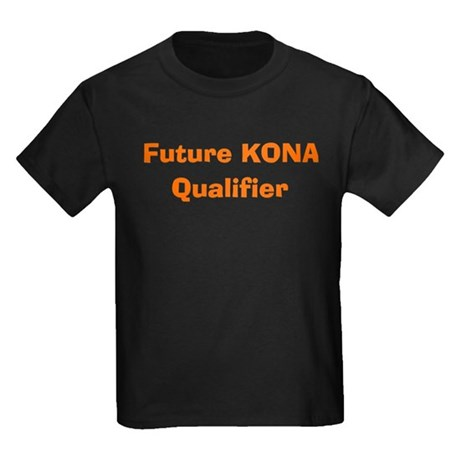 """Future Kona Qualifier"" Kids Dark T-Shirt"