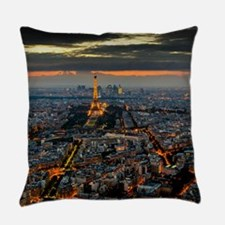 PARIS FROM ABOVE Everyday Pillow