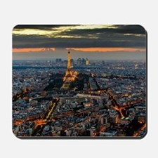 PARIS FROM ABOVE Mousepad