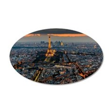 PARIS FROM ABOVE Wall Decal