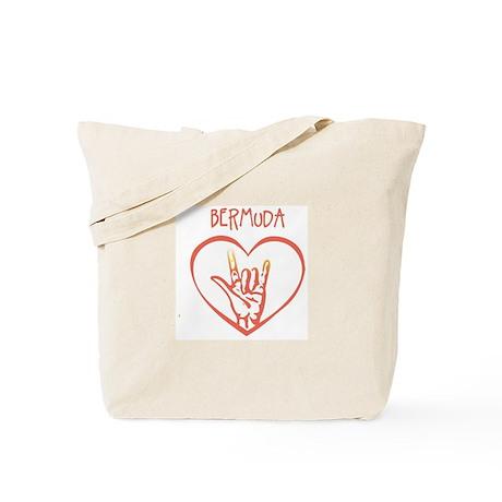 BERMUDA (hand sign) Tote Bag