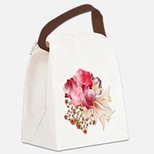 Bouquet of Roses Canvas Lunch Bag