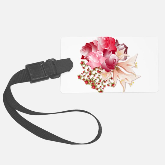 Bouquet of Roses Luggage Tag