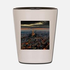 PARIS FROM ABOVE Shot Glass