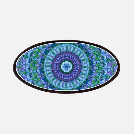 Blue Spirit Mandala Patch