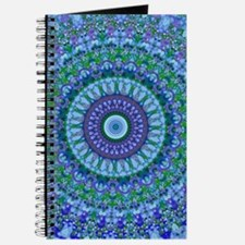 Blue Spirit Mandala Journal