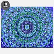 Blue Spirit Mandala Puzzle