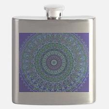 Blue Spirit Mandala Flask