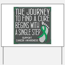 Liver Cancer Walk Yard Sign