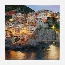 MANAROLA ITALY Tile Coaster
