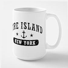 Fire Island NY Large Mug