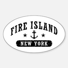 Fire Island NY Decal