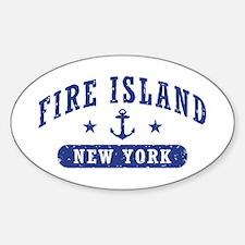Fire Island NY Decal
