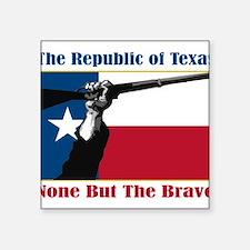 """Unique Texas secession Square Sticker 3"""" x 3"""""""