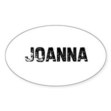 Joanna Oval Decal
