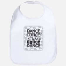 Dance White Bib