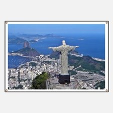CHRIST ON CORCOVADO Banner