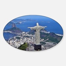 CHRIST ON CORCOVADO Decal
