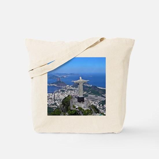 CHRIST ON CORCOVADO Tote Bag
