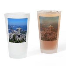 CHRIST ON CORCOVADO Drinking Glass