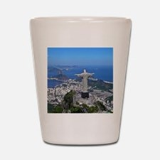 CHRIST ON CORCOVADO Shot Glass