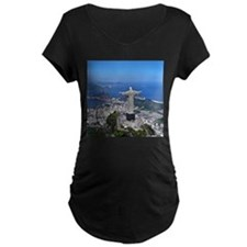 CHRIST ON CORCOVADO Maternity T-Shirt