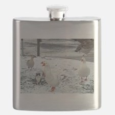 Cat that thinks it's goose Flask