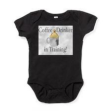 Funny Humorous coffee Baby Bodysuit