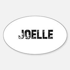 Joelle Oval Decal