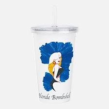 Blonde Bombshell Acrylic Double-wall Tumbler