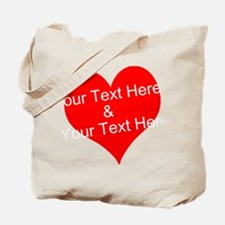 Personalize It - Customize 2 Lines of Text Tote Ba