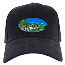 River Crossing (landscape) Black Cap