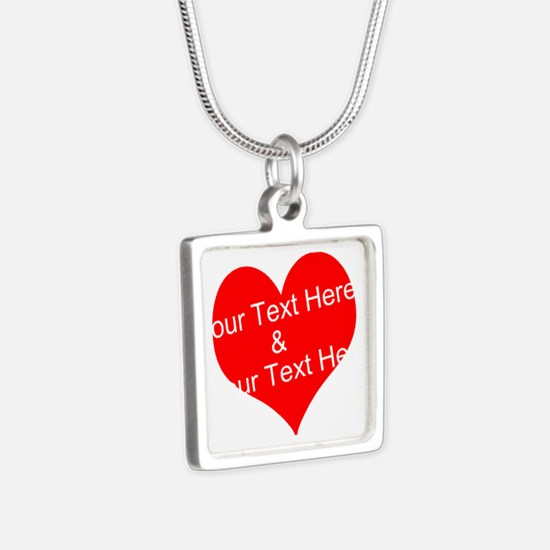 Personalize It - Customize 2 Lines Of Necklaces