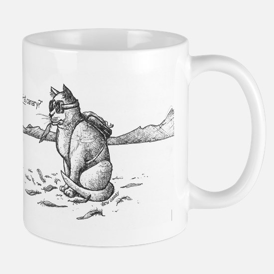 Bad Buner Kitty 1 Mugs