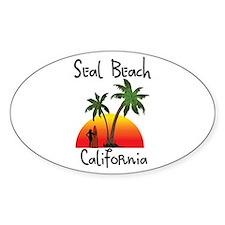 Seal Beach California Decal