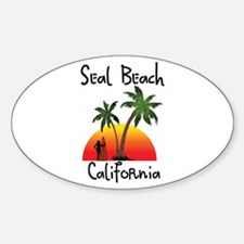 Seal Beach California Decal