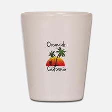 Oceanside California Shot Glass