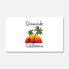 Oceanside California Car Magnet 20 x 12