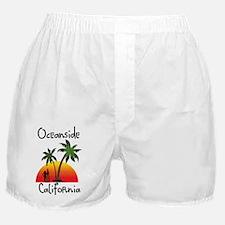 Oceanside California Boxer Shorts