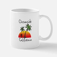 Oceanside California Mugs