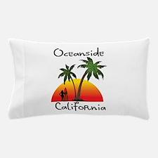 Oceanside California Pillow Case