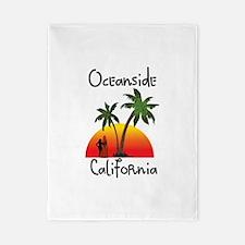 Oceanside California Twin Duvet