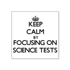 """Cute The physical sciences Square Sticker 3"""" x 3"""""""